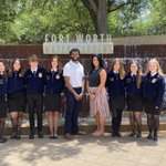 Image for the Tweet beginning: Cy Falls FFA at the