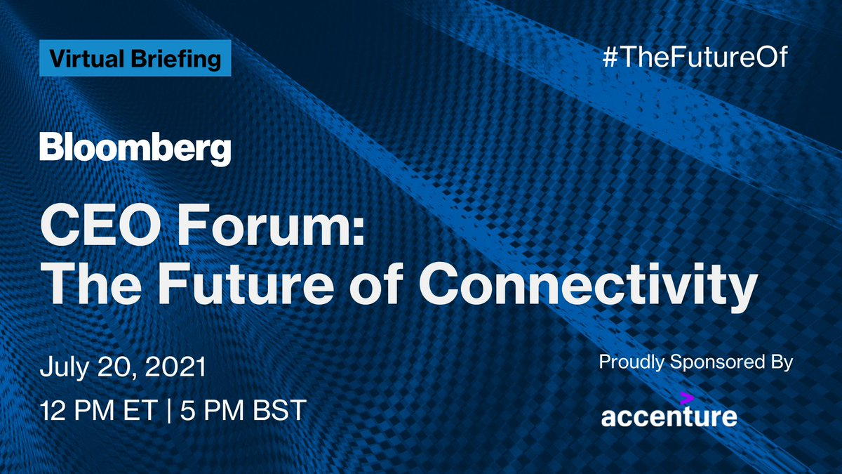 Bloomberg Live: CEO Forum, The Future of Connectivity