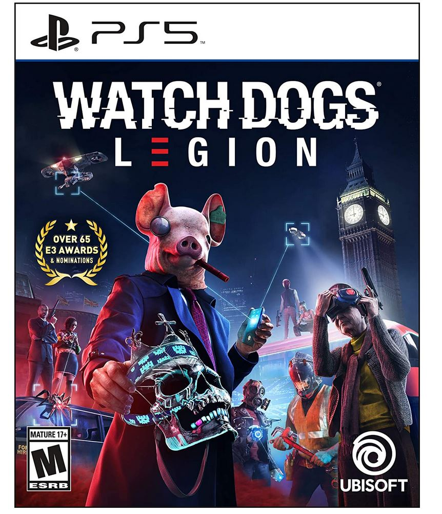 Watch Dogs: Legion (PS5/PS4/X1/X) $19.99 via Amazon (Prime Eligible).