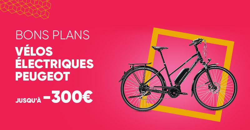 MOBILITE 🚲 | Jusqu'à -300€ sur les vélos électriques Peugeot, c'est par ici ! 👉 https://t.co/hZDs8zqKoh https://t.co/Jqb7HS8CQs