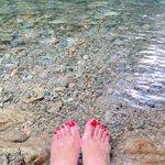Image for the Tweet beginning: ということで綺麗な川が大好きで、自然が大好きな私です。 今週1人ドライブで行ってきた朝6時半の川。 #那須 #綺麗な川や海が大好き #マイナスイオン