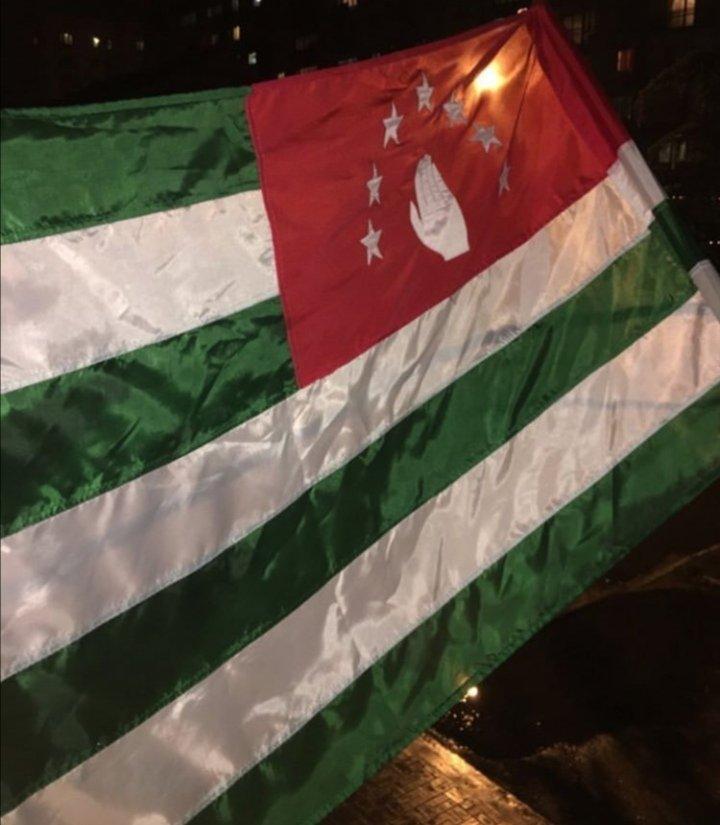 Happy Flag day! ❤️💚 #Аҧсны  #АбираҟАмш #Abkhazia #FlagDay #23July https://t.co/cOuJVWDpg3