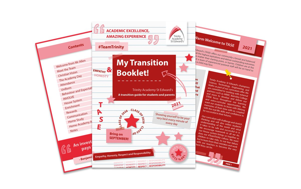 Exciting times! As September is fast approaching, why not give our #Year6 Transition Booklet a read 🔖👀❤️ We've covered all the key topics to help you feel excited about your big move ⭐️ We'll see you soon ☺️🔗 https://t.co/7GDirNwwBx #Year7 #Summer