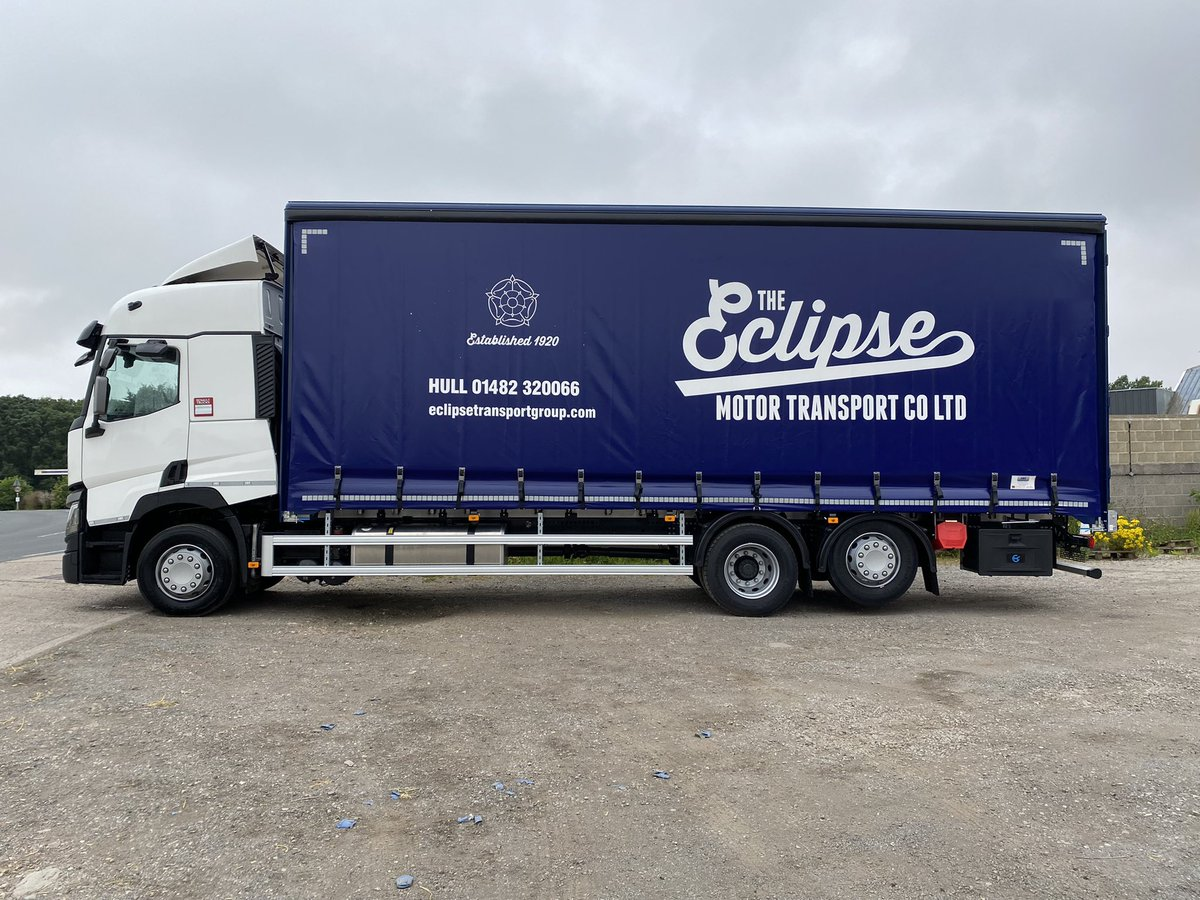 test Twitter Media - Another completed job from our busy workshop…this is a lightweight alloy curtain-side build through @Thompsoncomm Ltd for Eclipse Transport. #ThompsonCommercials #EclipseTransport #MartinWilliamsHull https://t.co/cAmL3n1j85