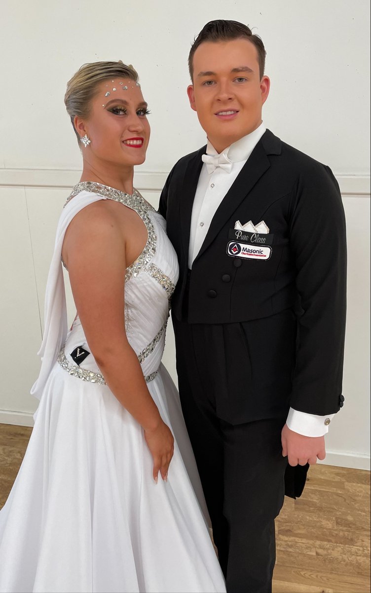 test Twitter Media - 💃The residents of Hewlett Court were wowed by Henry and Freja's excellent performance at a masonic trip in Lytham St Anne's. With our help, Henry, grandson of an @pglel #Freemason, tours up and down the UK with Freja to showcase their ballroom and Latin dancing skills. Bravo!👏 https://t.co/e8YkLpi2vS