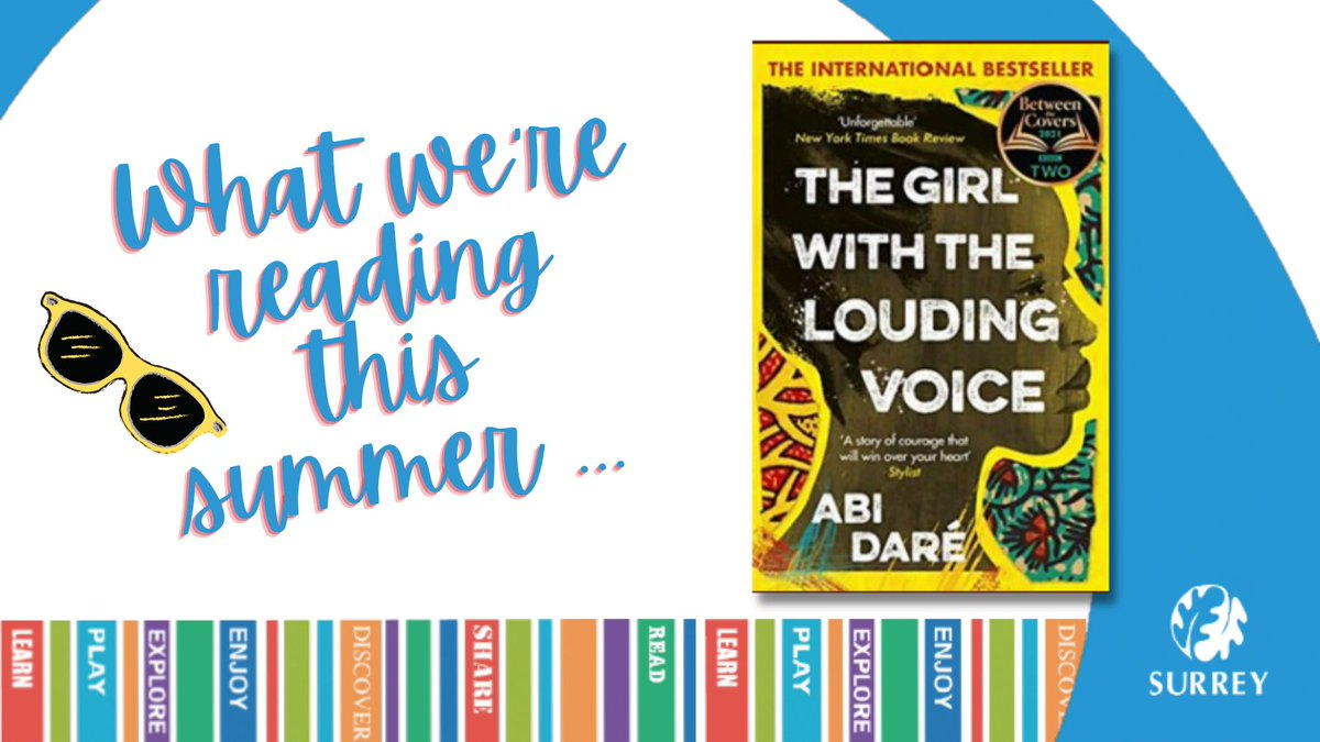 GIRL WITH THE LOUDING VOICE by @abidare_author was one of our favourite books of last year. So fab to see it on #BetweenTheCovers @BBCTwo!  Also LOVED the reading by @andoh_adjoa who narrates the audiobook. Available @SurreyLibraries👉https://t.co/lhazuzQFEK #SummerReadingList https://t.co/SSKYkBOCoP