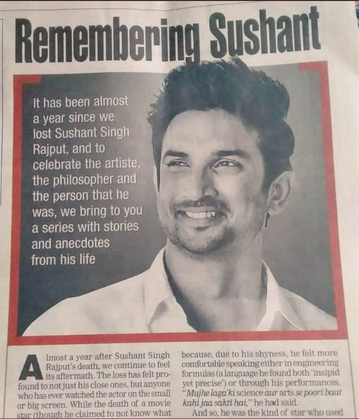 RT @its_your_Komal: Remembering Sushant.❤ 404 Days Without you @itsSSR 💔 CBI Grill PBS & Anil 4 SSR https://t.co/tieCKHwXfE