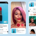 Image for the Tweet beginning: Pinterest combined #ArtificialIntelligence with augmented