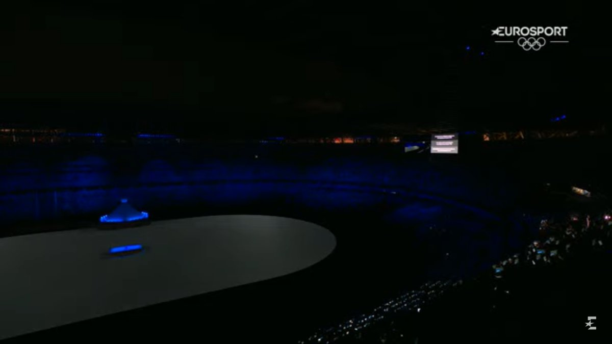 For the first time, the Opening Ceremony included a moment of silence for the Israeli delegation murdered at the 1972 Olympics. https://t.co/R7lqnaPt2J