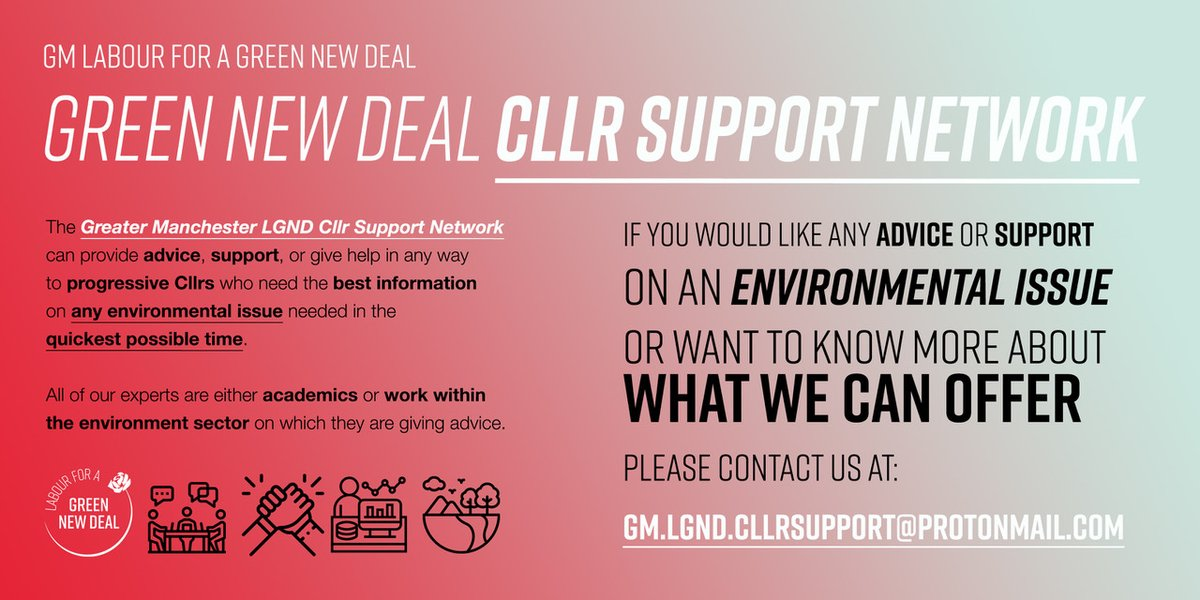 A few weeks ago we launched our 'Cllr Support Network' and have been contacted by a number of Cllrs to find out more about what we can offer.  If you are a Cllr who would like expert advice on either a project in your ward or an environmental issue, we are just an email away. 💪 https://t.co/TqMnQ1No1A