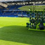 Image for the Tweet beginning: Double vision at Stamford Bridge.