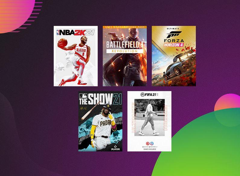 Ultimate Game Sale via Xbox.
