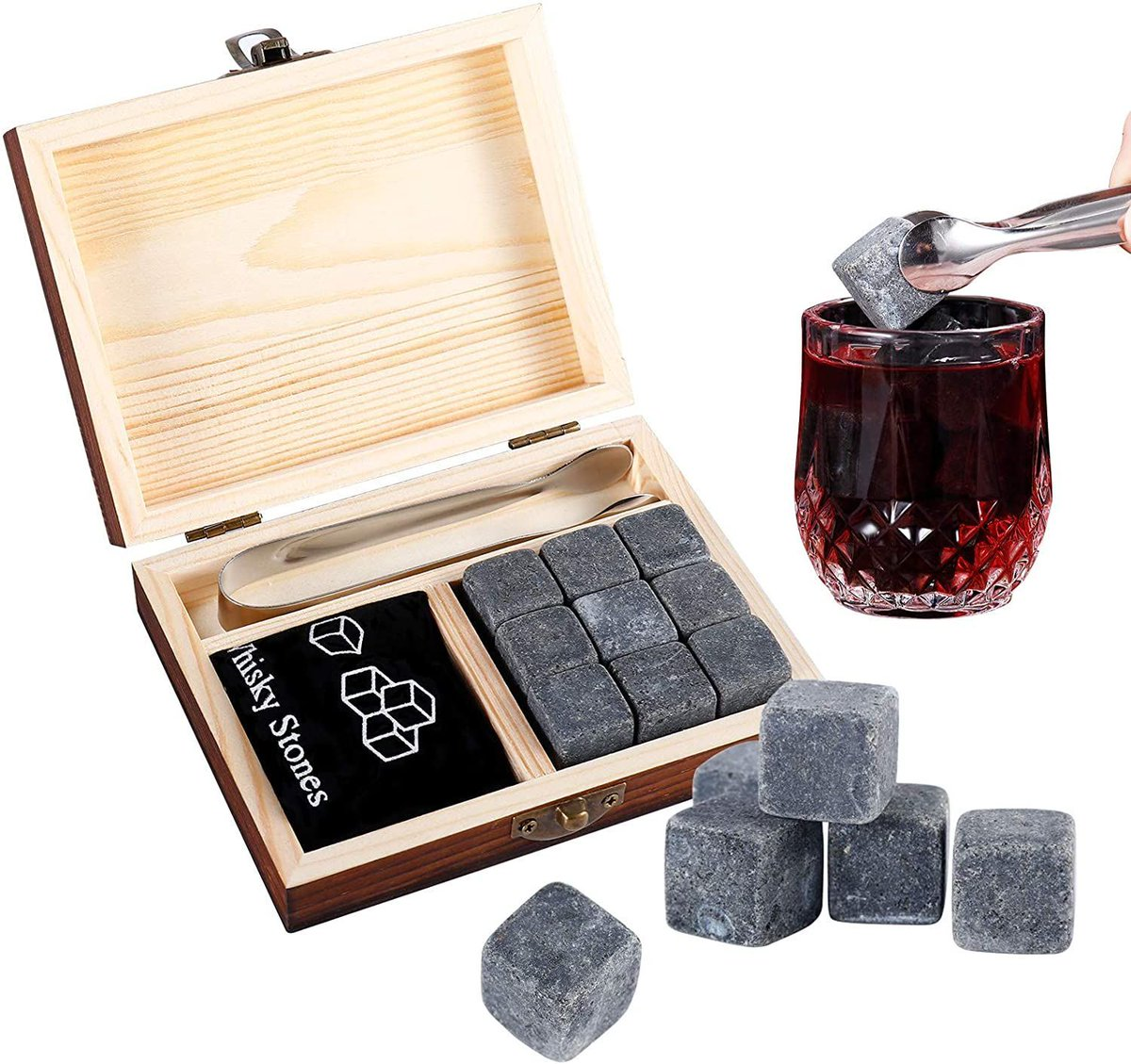 ad: ONLY $9.49  Whiskey Stones Set   use code RINQR2U8 at checkout