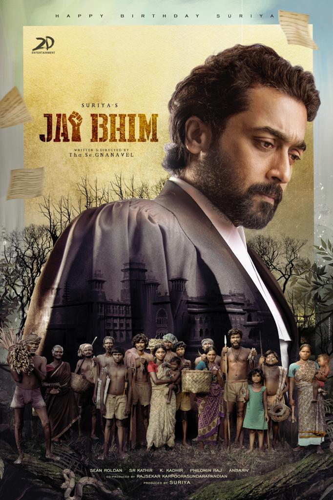 JAI BHIM ✊ to release in Telugu also..  @Suriya_offl 's Next titled #JaiBhim, Here's the First Look as the Birthday gift. ❤️   @prakashraaj @tjgnan @RSeanRoldan @srkathiir @KKadhirr_artdir @philoedit @rajsekarpandian @PoornimaRamasw1 @thanga18 @2D_ENTPVTLTD @kabilanchelliah https://t.co/AGd6aBLpCT