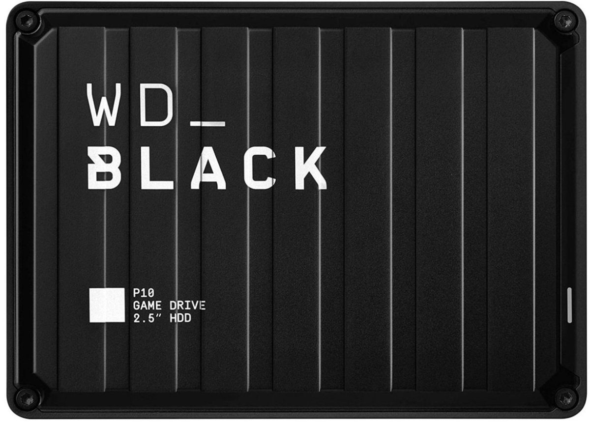 WD_Black 2TB  P10 External Drive for PS5 & PS4  Was $89.99 Now $72.99 Amazon