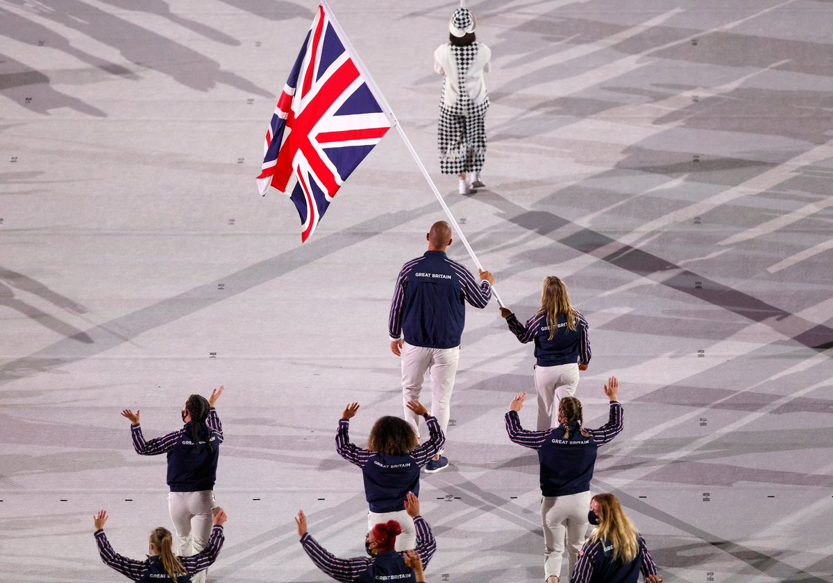 Flying the flag. 🇬🇧  #TeamGB https://t.co/tPkLwEZx9m