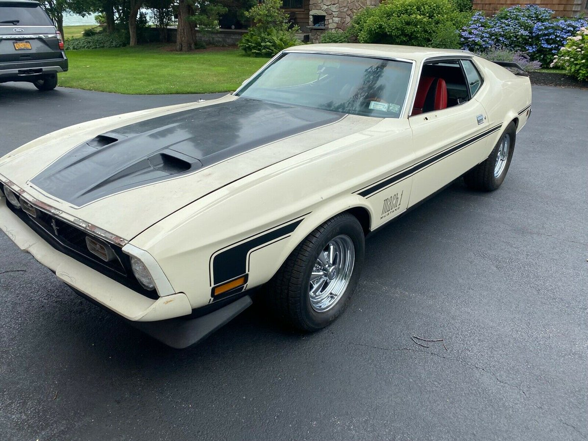 ad: 1971 Ford Mustang Mach 1 Mach 1 -   s