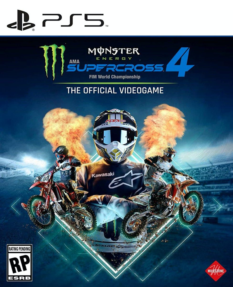 Monster Energy Supercross 4 PS5  Was $59.99 Now $38.00 Amazon