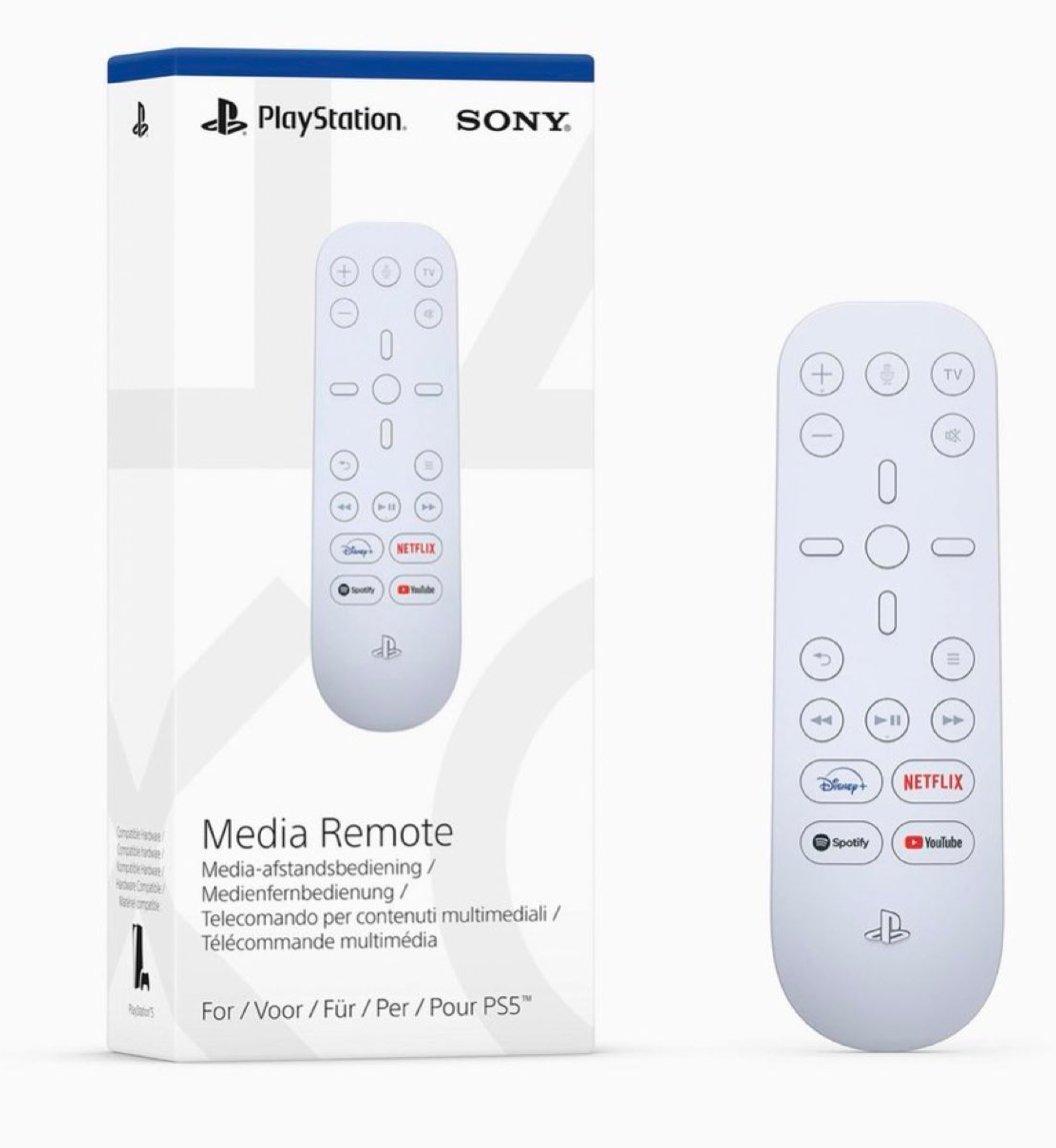 Sony Media Remote PS5 $29.99 Amazon