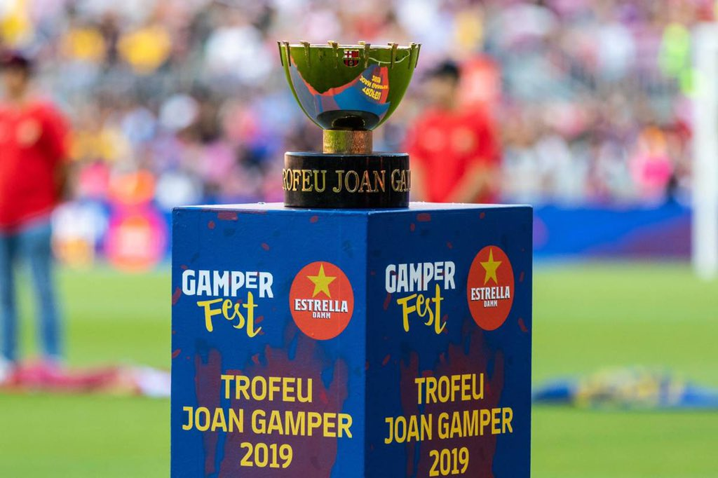20% of Camp Nou will be in fans in Barcelona's game against Juventus in the Joan Gamper Cup. (@totcosta) https://t.co/9VXPHOrCIi