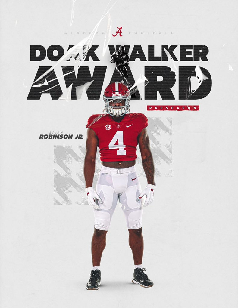 @AlabamaFTBL's photo on Doak Walker Award