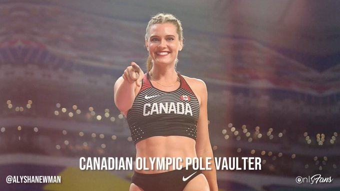 Say hello to 'Pole Vault Queen' @alysha_newman94! 👸🏼🇨🇦 Olympic Athlete Alysha is taking you with her