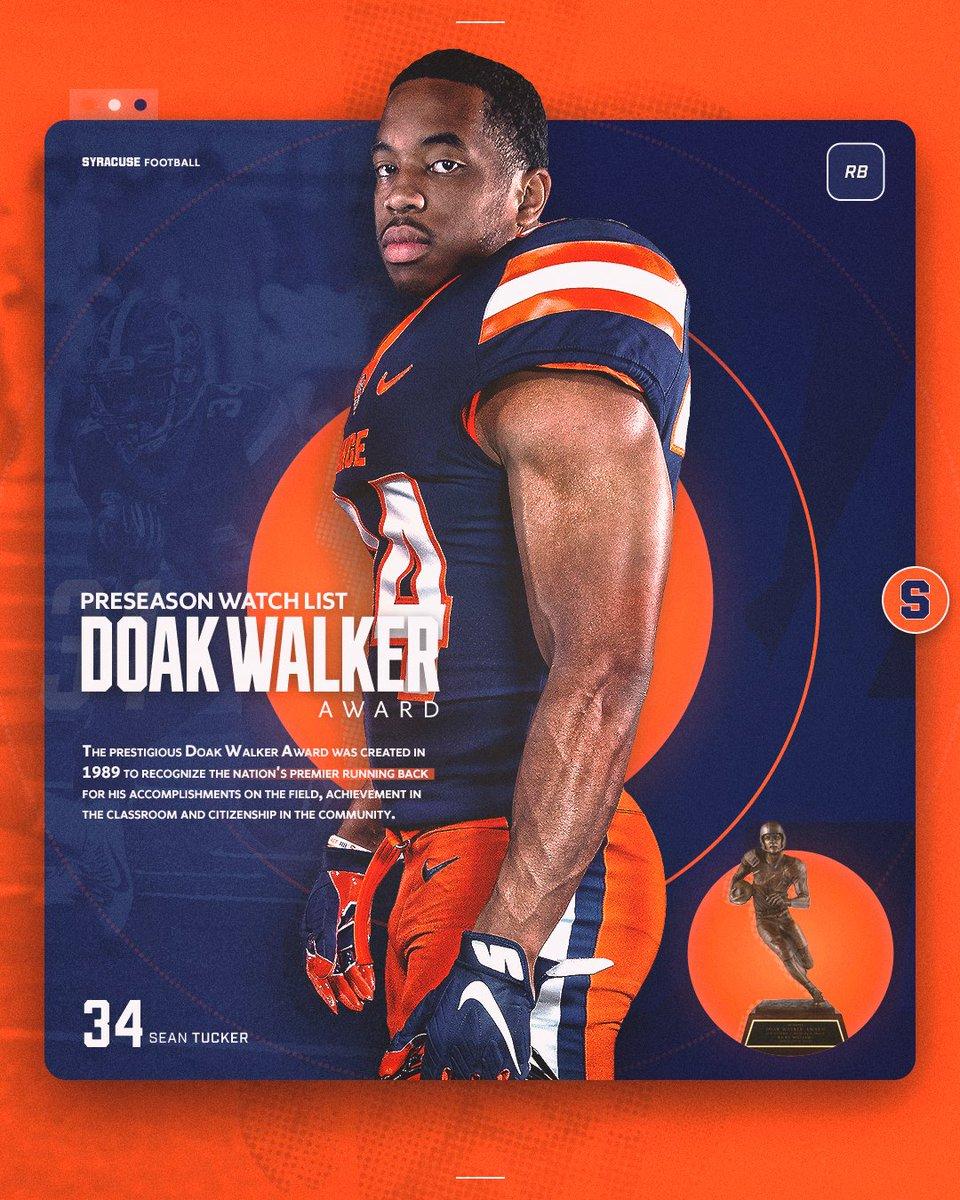 @CuseFootball's photo on Doak Walker Award