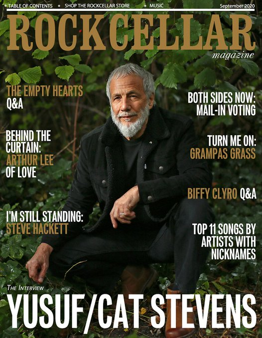 Happy Birthday to Yusuf / Cat Stevens! Our interview: