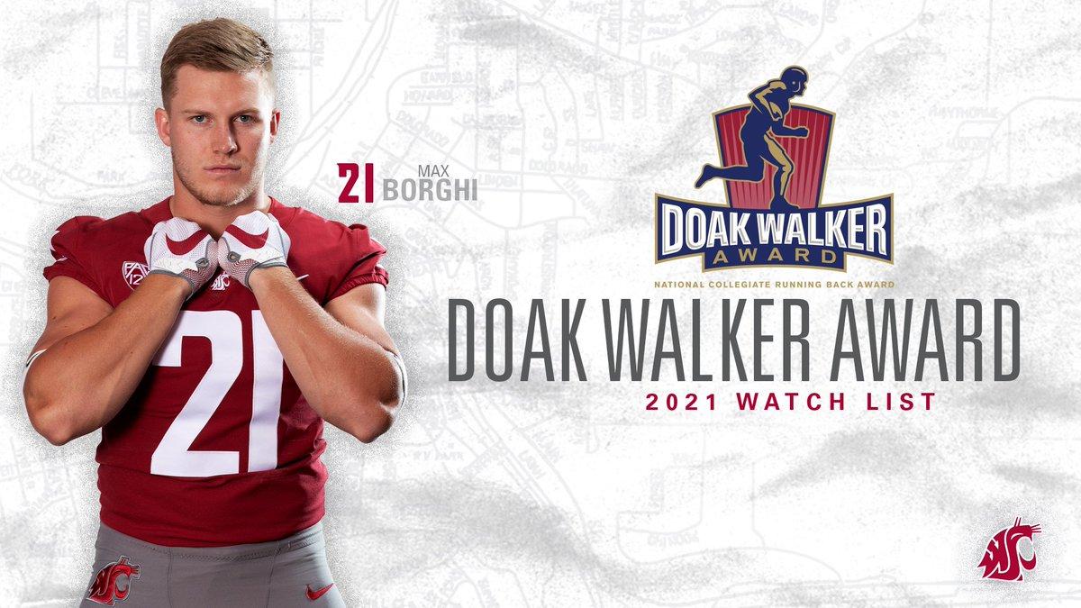 @WSUCougarFB's photo on Doak Walker Award