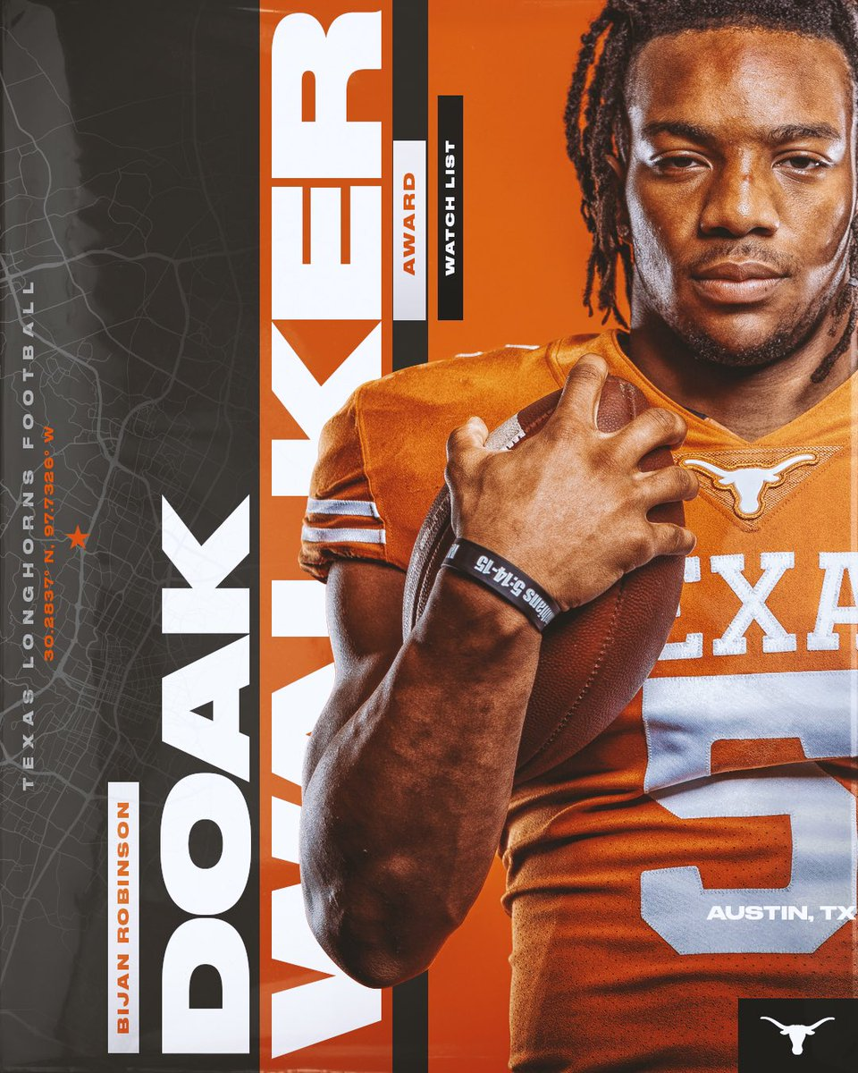 @TexasFootball's photo on Doak Walker Award