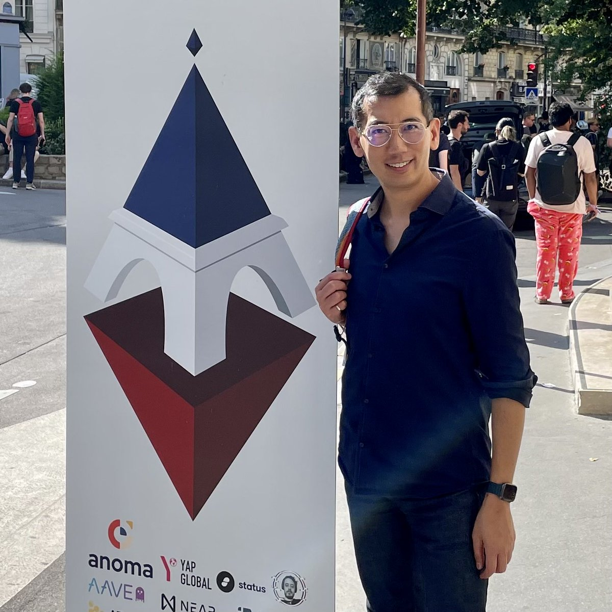 To say #ethccweek is awesome would be an understatement. Making connections, building out our ecosystem, and having a blast here in Paris!  @EthCC #Ethereum #EthereumForAll https://t.co/EQdvyMH2sS