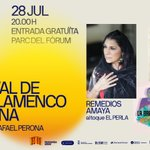 Image for the Tweet beginning: Al Festival del Cante de
