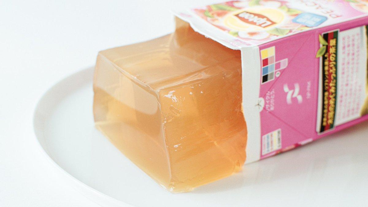 ジュースにゼラチンを溶かして冷やすだけ!お家で作れるパックそのままゼリーがおすすめ!