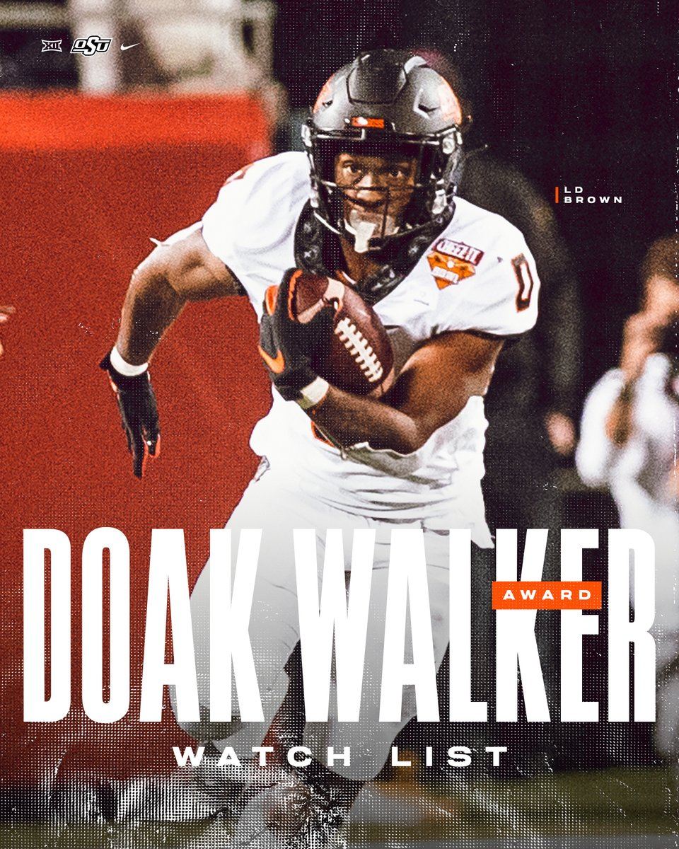 @CowboyFB's photo on Doak Walker Award