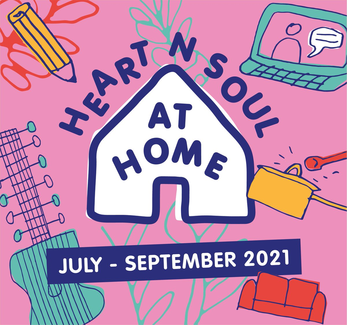 Looking for something to do over the summer? 🌞 Heart n Soul at Home is our FREE weekday creative sessions online, open to everyone! Find out more info here ℹ️https://t.co/lOUF9vHrvE https://t.co/7wVnEv6Ge7