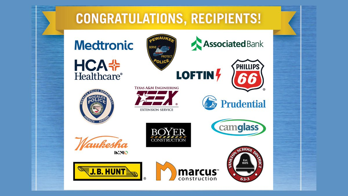 We are thrilled to announce the 2021 @SecDef Freedom Award Recipients! These amazing #employers earned the highest @DeptofDefense honor for exemplary support to their #NationalGuard /#Reserve employees. CONGRATULATIONS 2021 RECIPIENTS!! #SecDefFreedomAward https://t.co/xkPEozNJBC https://t.co/666wPh8vui
