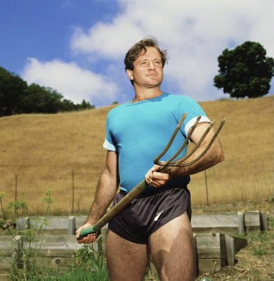 You re only given a little spark of madness. You musn t lose it. Happy Birthday, Robin Williams. Rest easy.