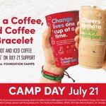 Image for the Tweet beginning: Today is #TimsCampDay. Buy a