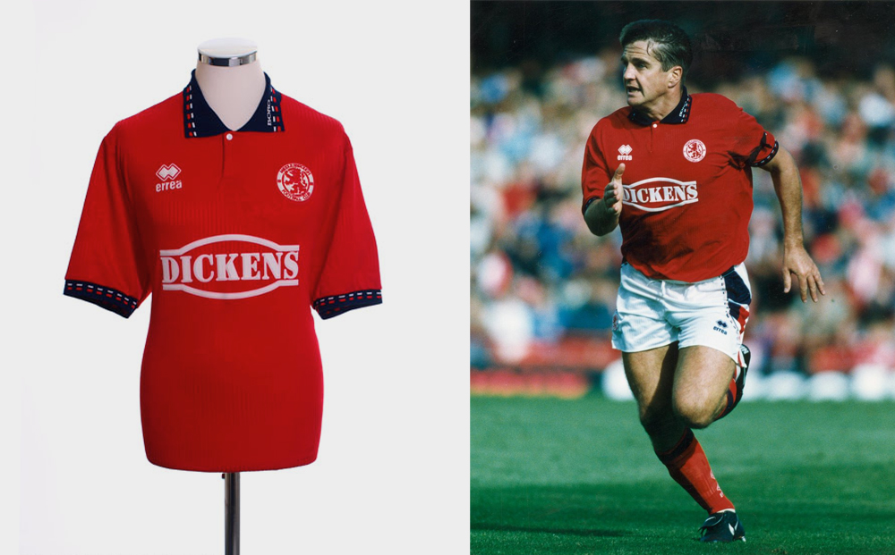 1994-95 Middlesbrough home kit