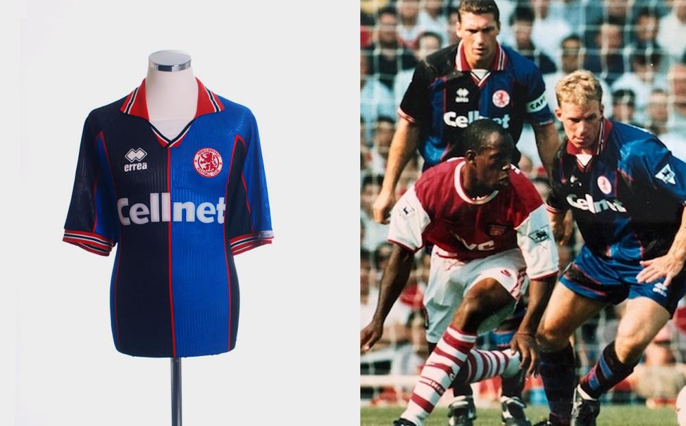 Middlesbrough 1995-96 away kit