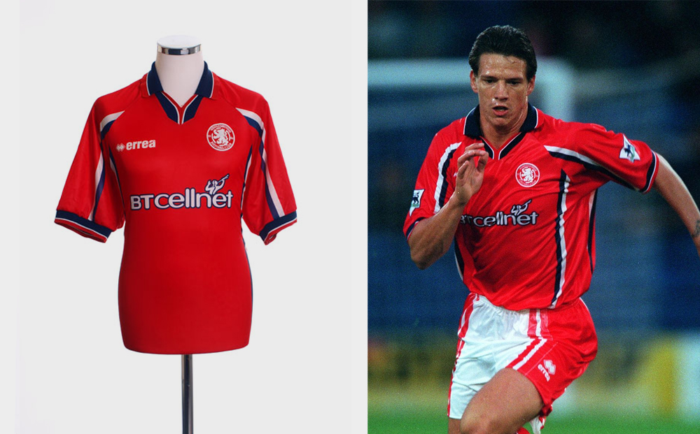 1999-00 Middlesbrough home kit