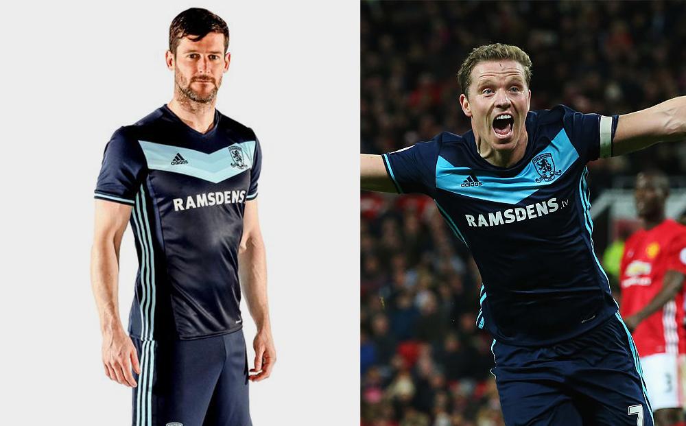 Middlesbrough 2016-17 Away Kit