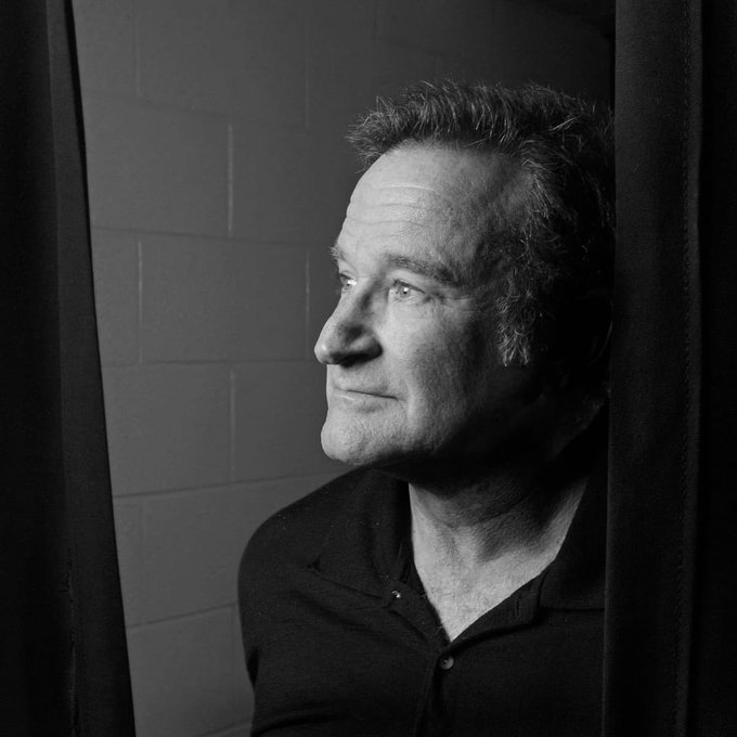 Robin Williams would of been 70 years old today   R.I.P Robin Williams and happy heavenly birthday to you