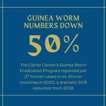 Image for the Tweet beginning: Despite #COVID19, in 2020, #theCarterCenter's