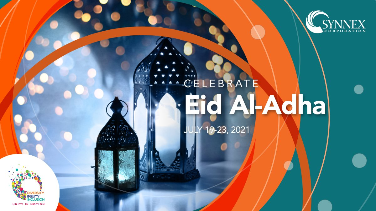 #eidaladha is the second of the two Eids of the Islamic lunar calendar year ( #EidAlFitr ). The two major Muslim holidays are celebrated around the world each year. In 2021, Eid al-Adha will begin on the evening of Monday 19 July and end on the evening of Friday 23 July. https://t.co/wqeVsVO5MI