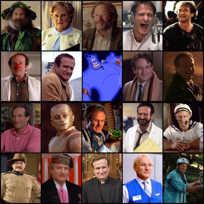 Happy birthday to Robin Williams! He would have been 70 today. mvs