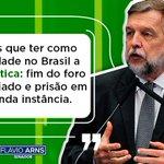 Image for the Tweet beginning: O fim do foro privilegiado