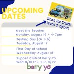 Image for the Tweet beginning: School starts in 4 weeks! Mon