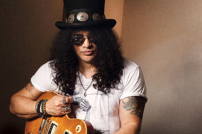 Happy Birthday to guitarist Slash!