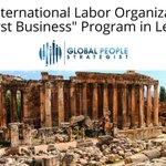 Image for the Tweet beginning: The International Labour Organization has